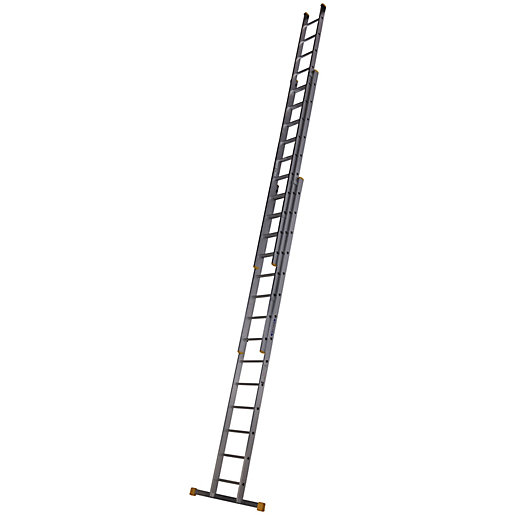 Werner Professional 10.63m 3 Section Aluminium Extension Ladder