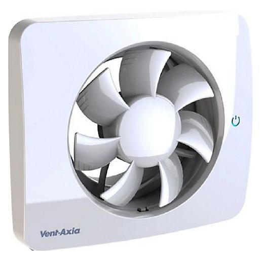 Vent-Axia Pure Air Sense Silent Bathroom Extractor Fan