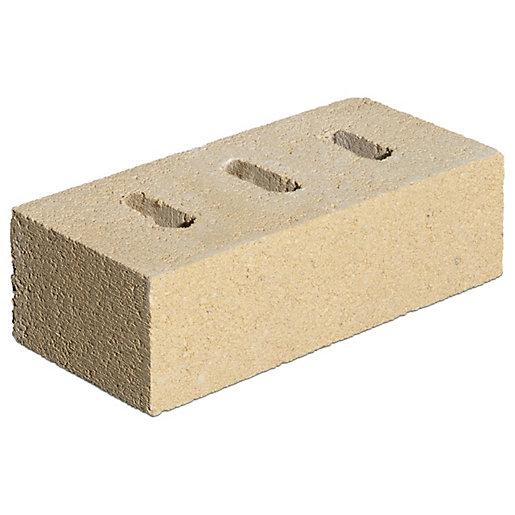 Marshalls Farnham Cream Perforated Facing Brick - 215