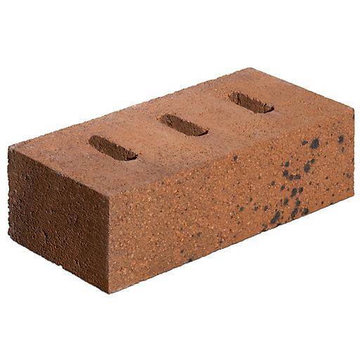 Marshalls Orange/Brown Hazley Heath Perforated Facing Brick -