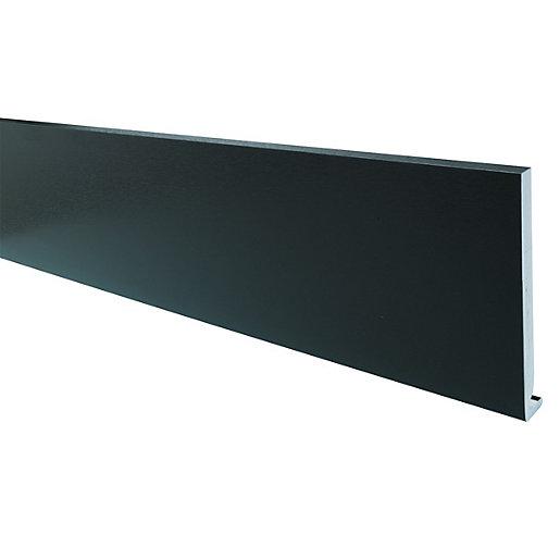 Wickes PVCu Black Fascia Board 18 x 175