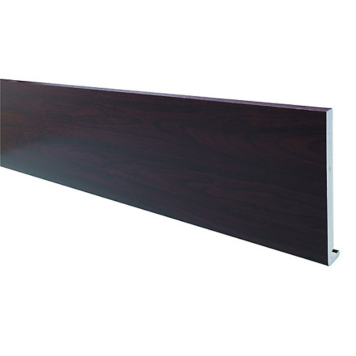 Wickes PVCu Rosewood Fascia Board 18 x 175