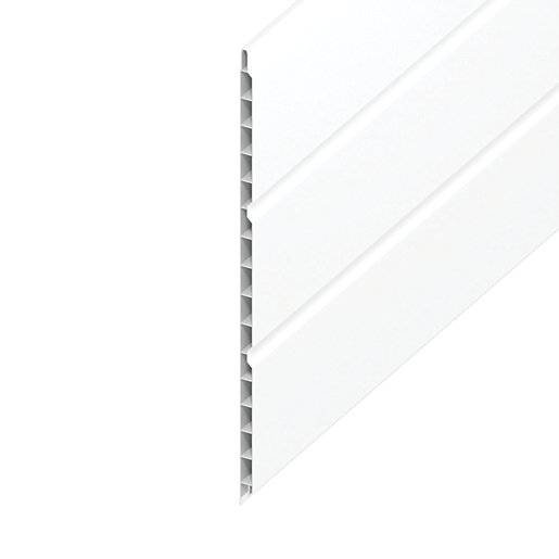Wickes PVCu Soffit Board - 300mm x 3m