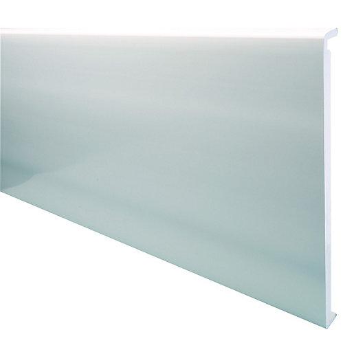 Wickes PVCu White Box End Board 18 x