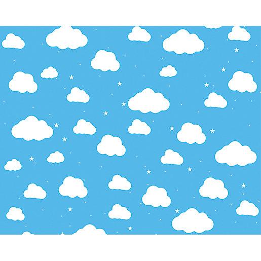 ohpopsi Cartoon Cloudy Sky Wall Mural