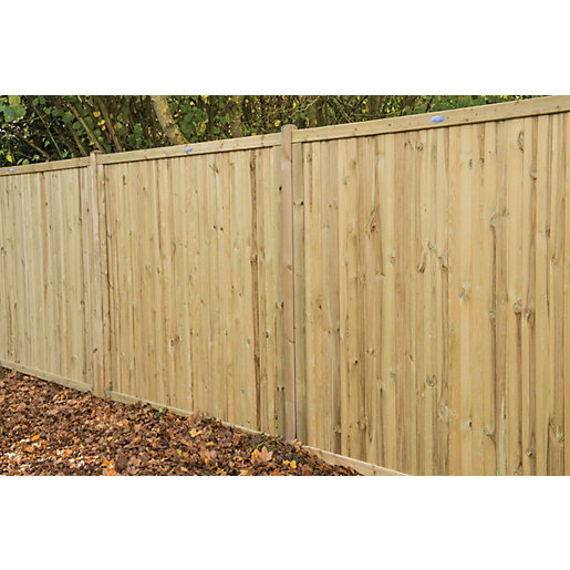 Forest Garden Pressure Treated Acoustic Fence Panel -