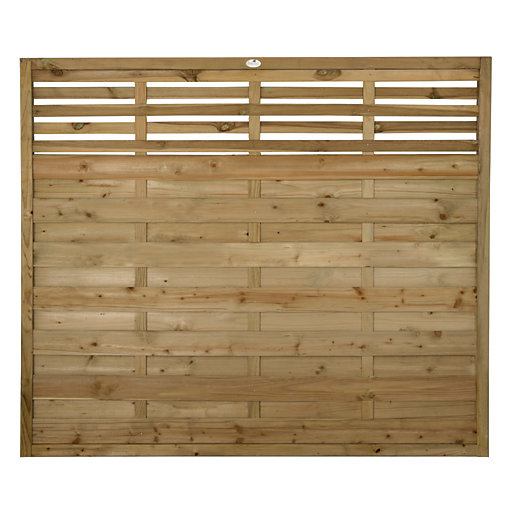Forest Garden Kyoto Fence Panel - 6 x