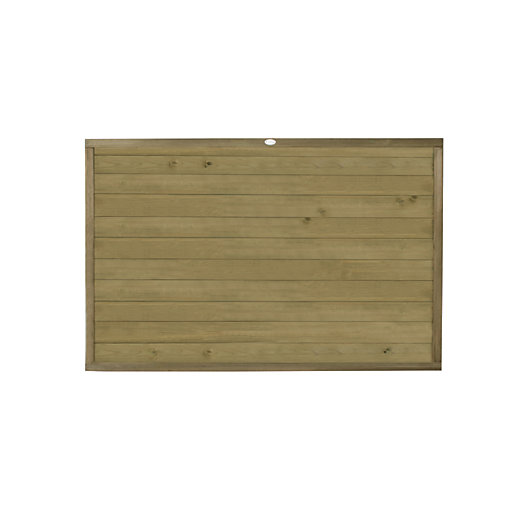 Forest Garden Tongue & Groove Horizontal Fence Panel