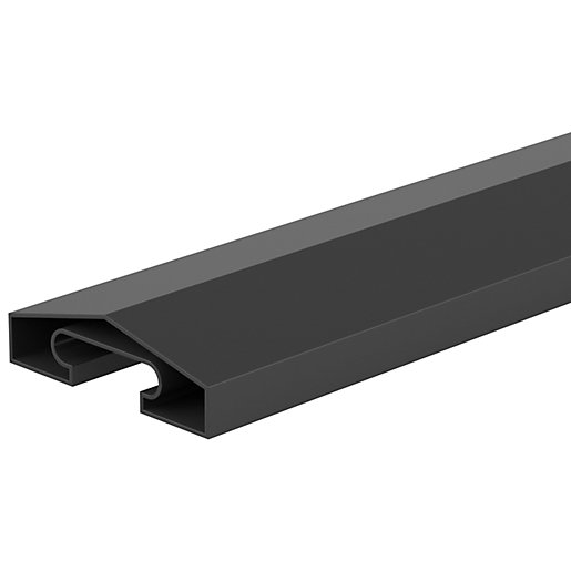 DuraPost Capping Rail Anthracite Grey - 1830mm