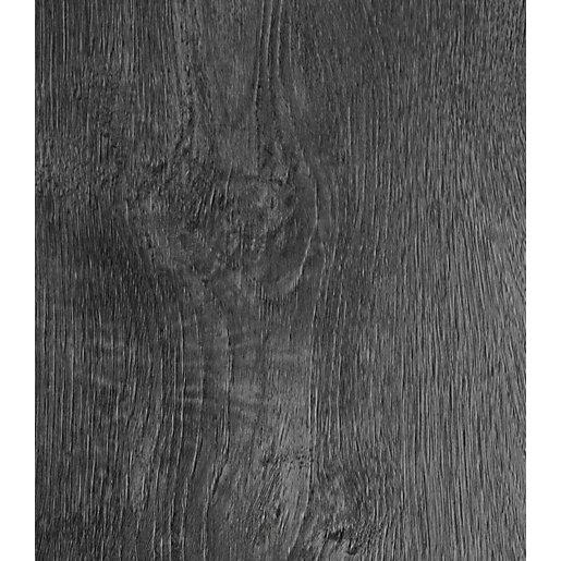 Novocore Embossed Dark Grey Luxury Vinyl Flooring -