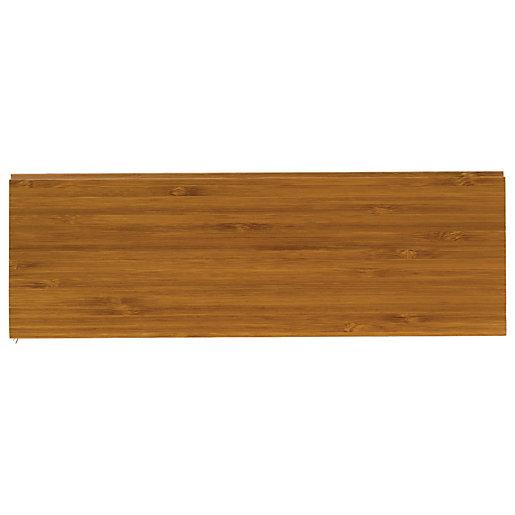 Style Caramel Bamboo Flooring Sample