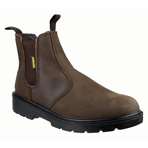 Amblers Safety FS128 Dealer Safety Boot - Brown