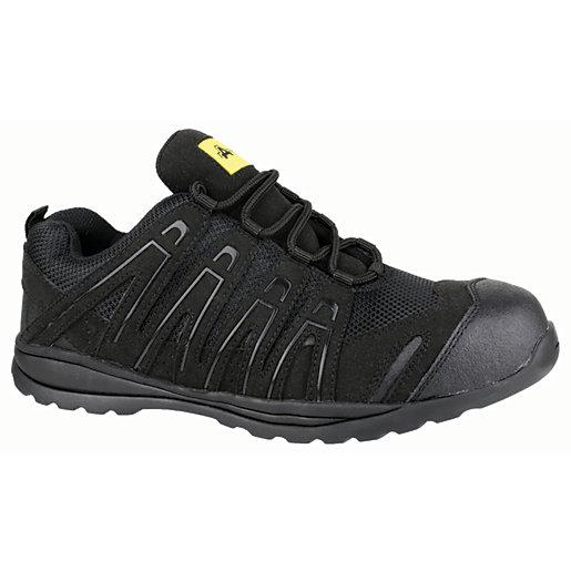 Amblers Safety FS40C Safety Trainer - Black