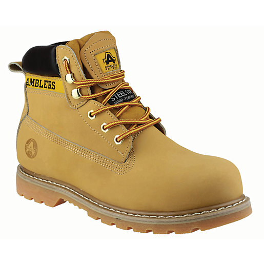 Amblers Safety FS7 Safety Boot - Honey