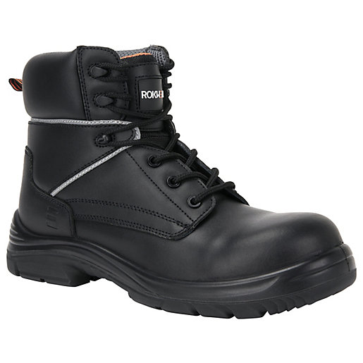 Rokwear Granite Womens Safety Boot - Black