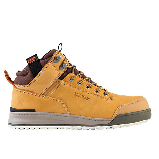 Scruffs Switchback Safety Hiker Boot - Tan