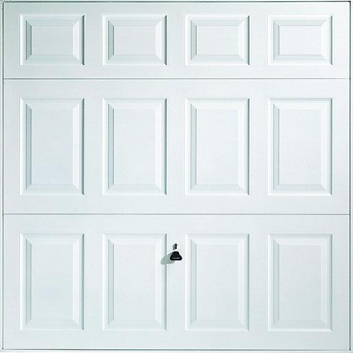 Wickes Beaumont Framed Retractable Garage Door 2438 x