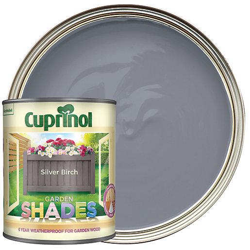 Cuprinol Garden Shades Matt Wood Treatment - Silver