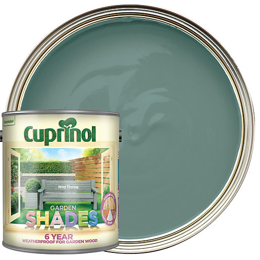 Cuprinol Garden Shades Matt Wood Treatment - Wild
