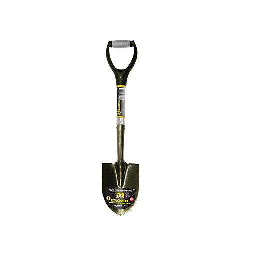 Roughneck Micro Shovel Round Point