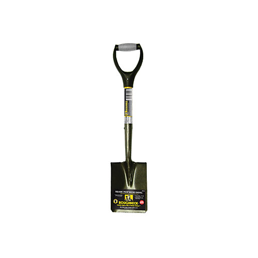 Roughneck Square Point Micro Shovel