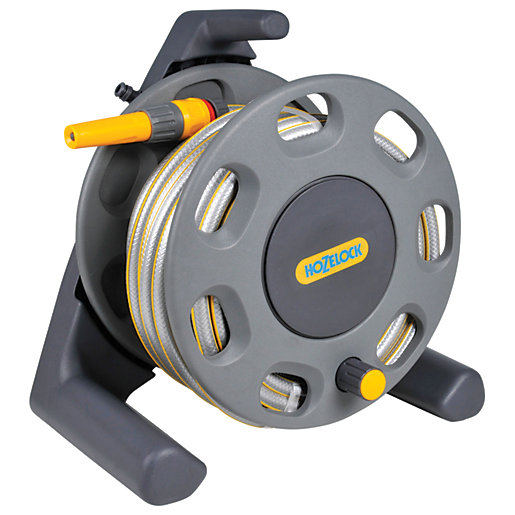 Hozelock 2412 Compact Reel with Hose Pipe -