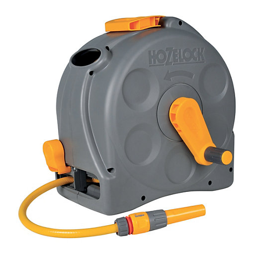 Hozelock 2415 2 in 1 Compact Enclosed Reel