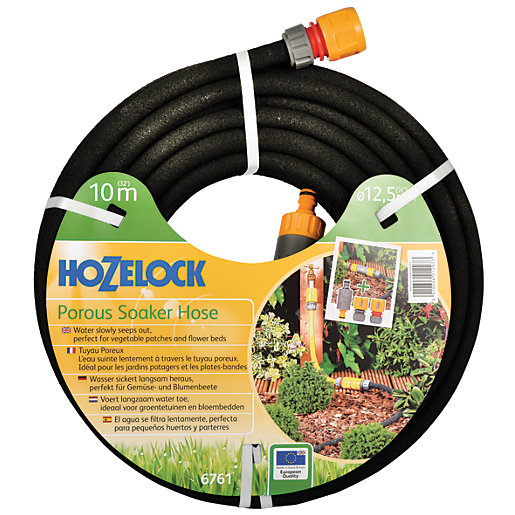 Hozelock Automatic Watering Soaker Hose Kit - 10m