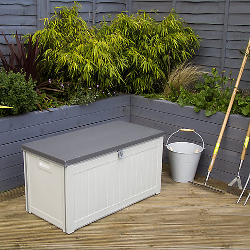 Charles Bentley 190L Outdoor Plastic Storage Box -