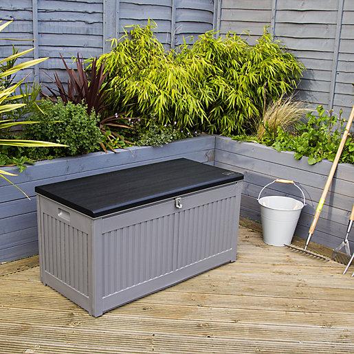 Charles Bentley 270L Outdoor Plastic Storage Box -
