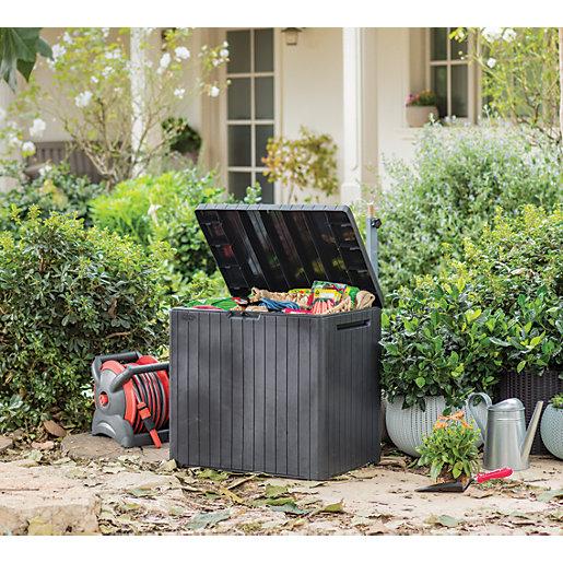 Keter City Outdoor Plastic Garden Storage Box -