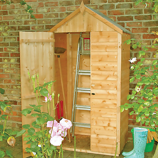 Shire 3 x 2ft Shiplap Timber Tool Store