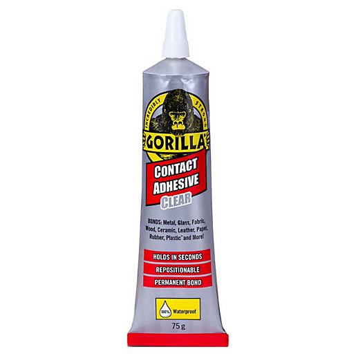 Gorilla Contact Adhesive Clear 75g