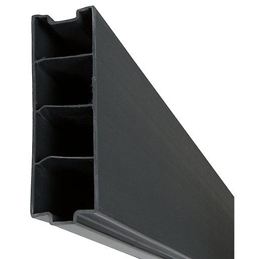 DuraPost Composite Gravel Board Anthracite Grey - 50mm
