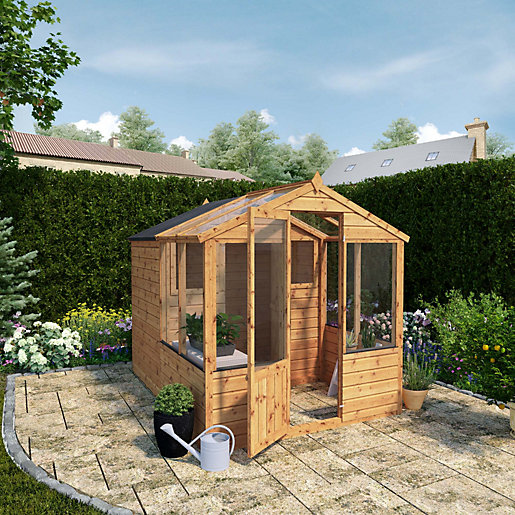 Mercia 8 x 6 ft Traditional Apex Greenhouse
