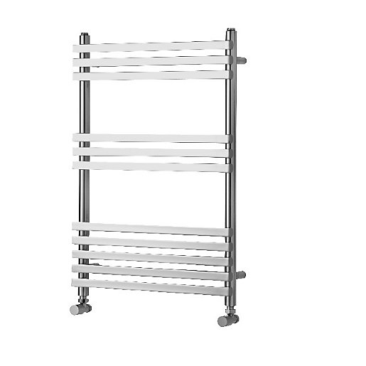 Towelrads Invent Square Chrome Heated Towel Rail Radiator