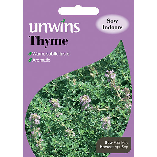 Unwins Aromatic Thyme Seeds