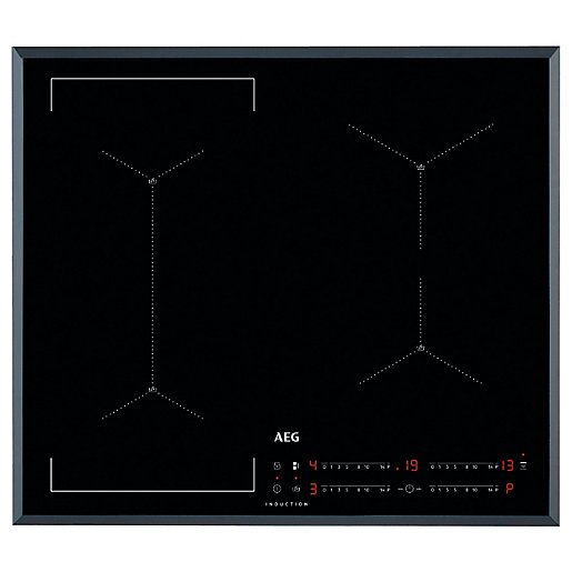 AEG IAE64421FB Black Induction Hob - 60cm