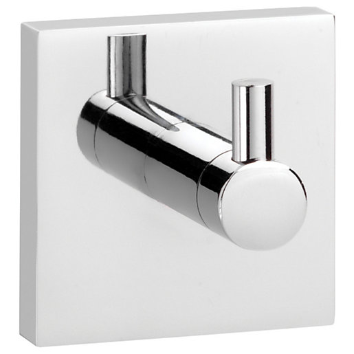 Croydex Chrome Chester Flexi-fix Robe Hook