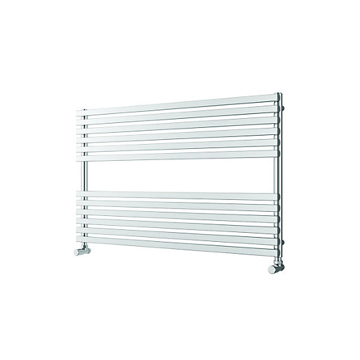 Wickes Invent Square Horizontal Designer Towel Radiator -