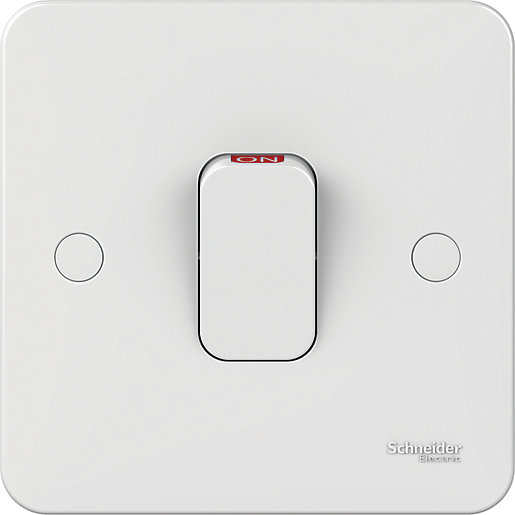 Lisse 50 Amp 1 Gang Double Pole Switch