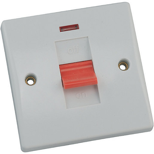 Schneider Ultimate 50AMP Control Switch & Neon 1
