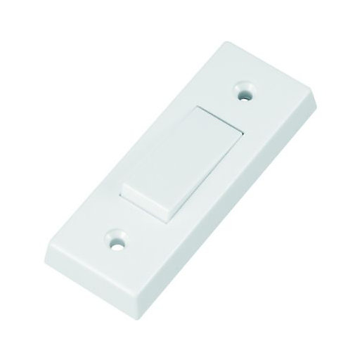 Wickes Architrave 1 Gang Light Switch - Polished