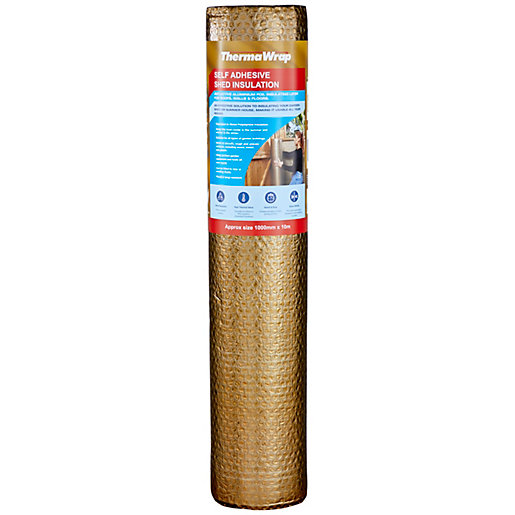 ThermaWrap Self-Adhesive Shed Insulation Roll - 1000mm x