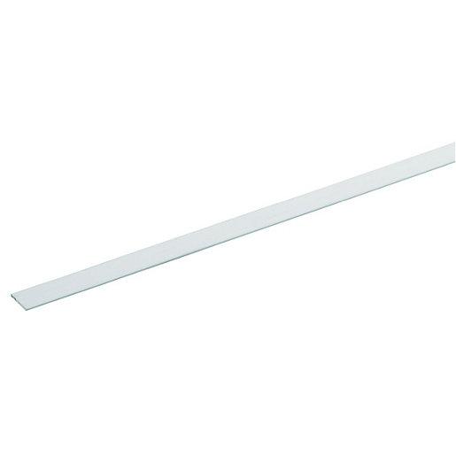 Wickes 19.5mm Multi-Purpose Flat Bar - White PVCu