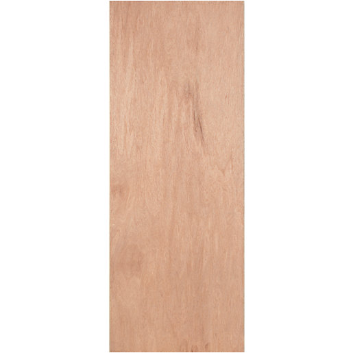 Wickes Lisburn Plywood Flushed 1 Panel Intenal Door