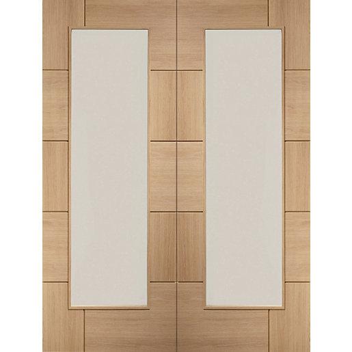 XL Joinery Ravenna Fully Glazed Oak 10 Panel