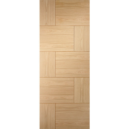 XL Joinery Ravenna Oak 10 Panel Internal Door