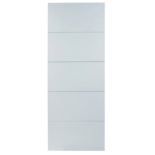 Wickes Halifax White Smooth Moulded 5 Panel Internal