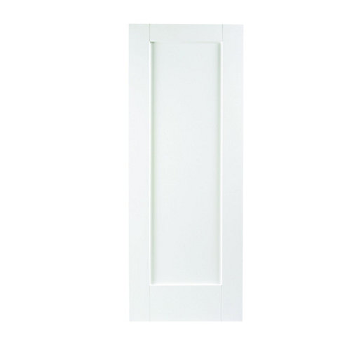 Wickes Oxford White Softwood 1 Panel Shaker Internal
